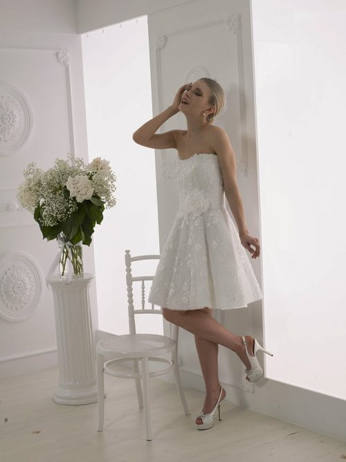 364b2e80cc9 Νυφικά Μίνι - Νυφικά πολιτικού γάμου - Yianna Couture - Αθήνα